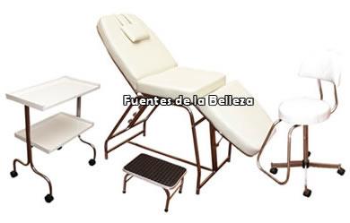 Camillas de masaje portatiles plegables camas de masaje for Sillas para facial
