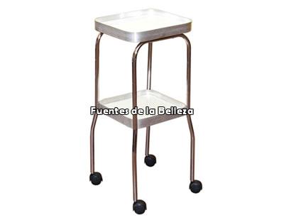 Carritos y mesas auxiliares para salones de belleza y for Mesas auxiliares de salon