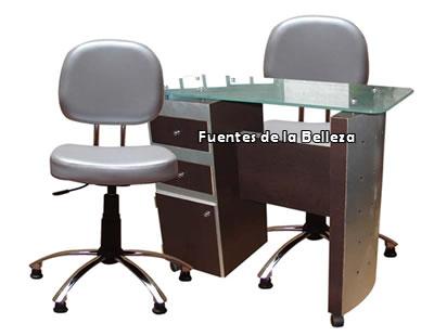 Muebles para manicure sillas y bancos para manicure y for Sillas para hacer pedicure