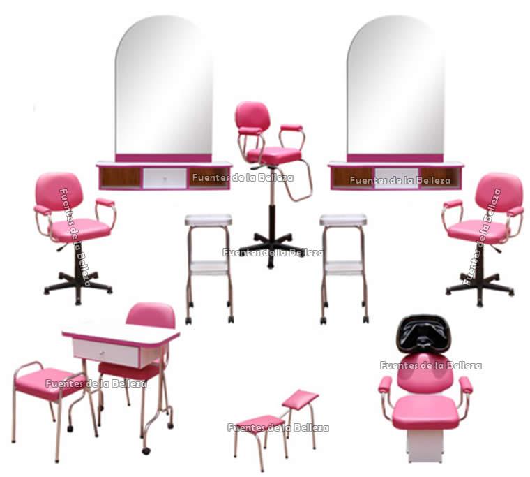 Muebles salon de belleza paquetes completos de muebles for Spa y salon de belleza